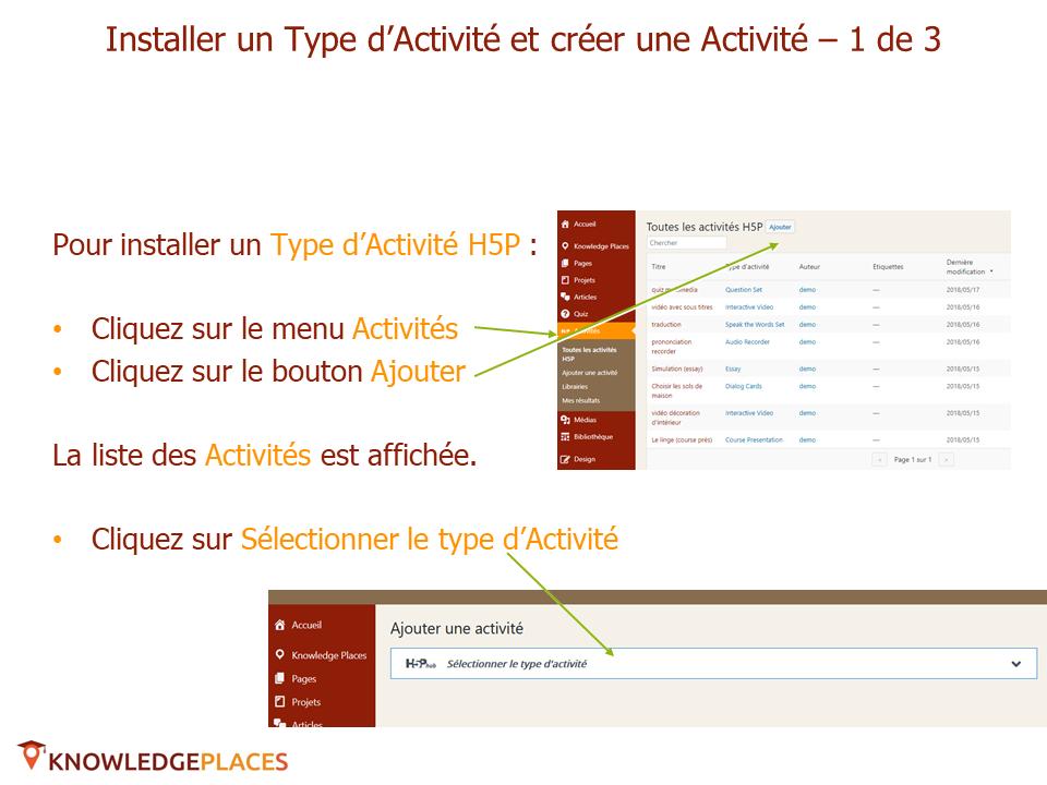 Installer et ajouter une activité H5P (3)