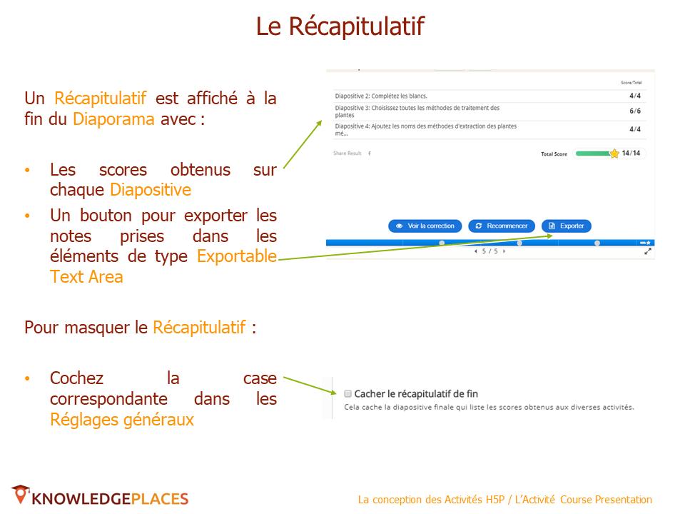 L'Activité Course Presentation (10)