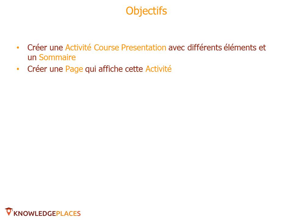 L'Activité Course Presentation - exercice (1)