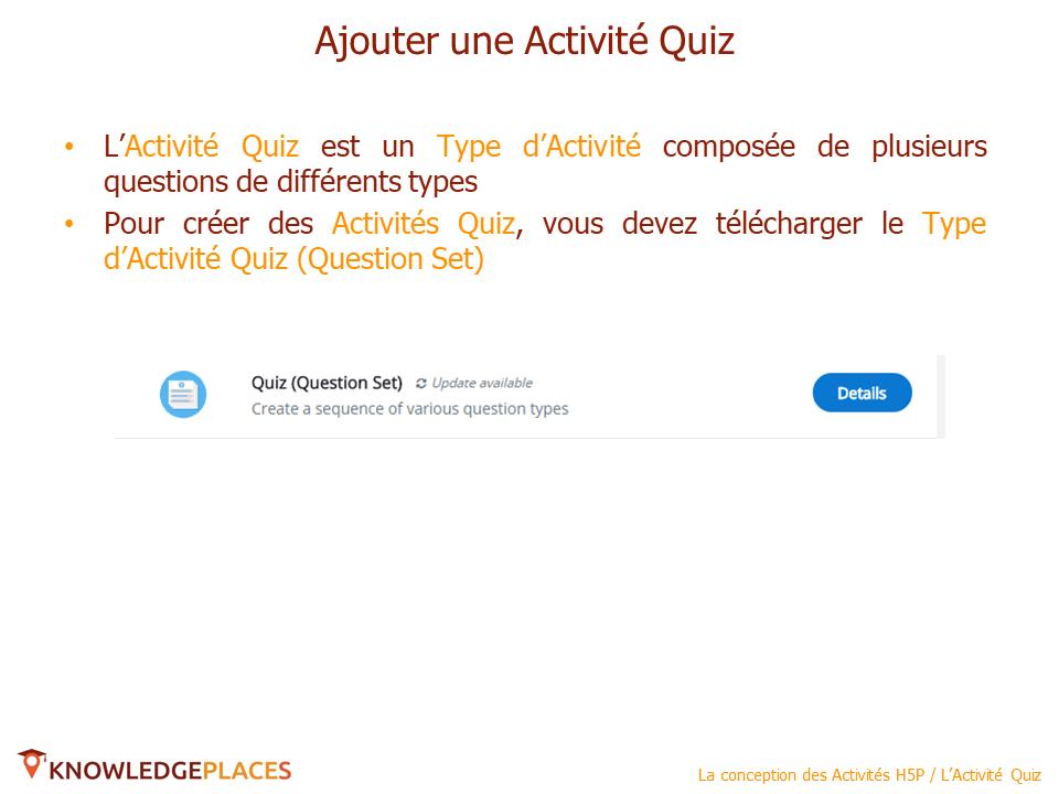 L'Activité Quiz (2)