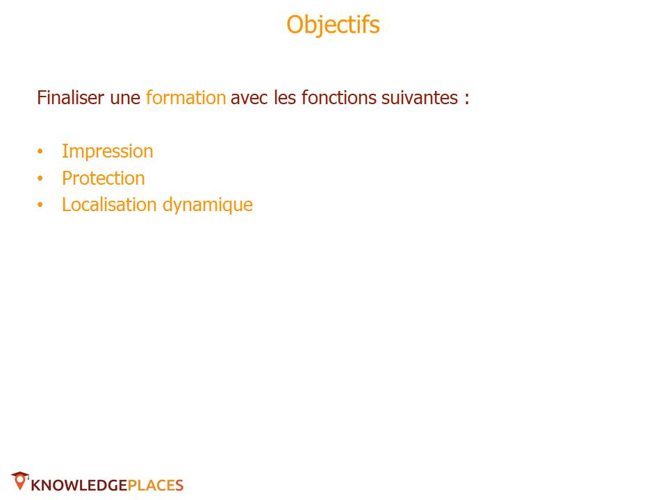 La diffusion des formations - exercice (1)
