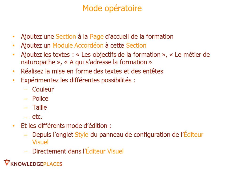 La mise en forme des textes - exercice (2)