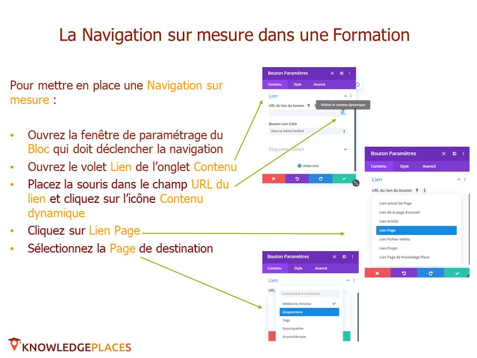 La navigation dans les formations (3)