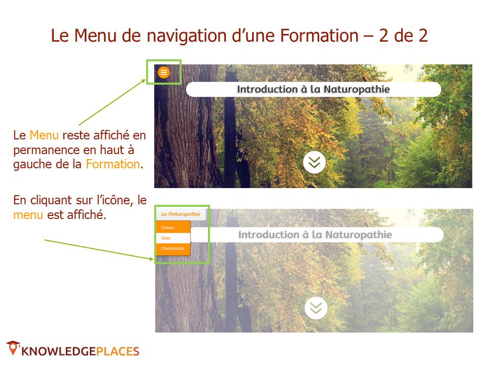 La navigation dans les formations (5)