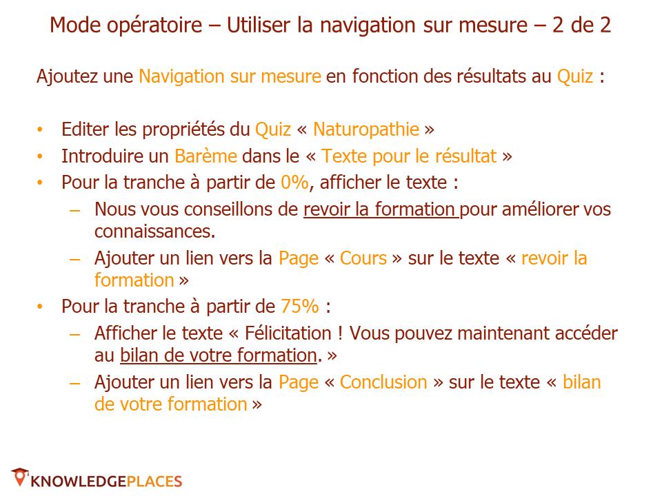 La navigation dans les formations - exercice (5)