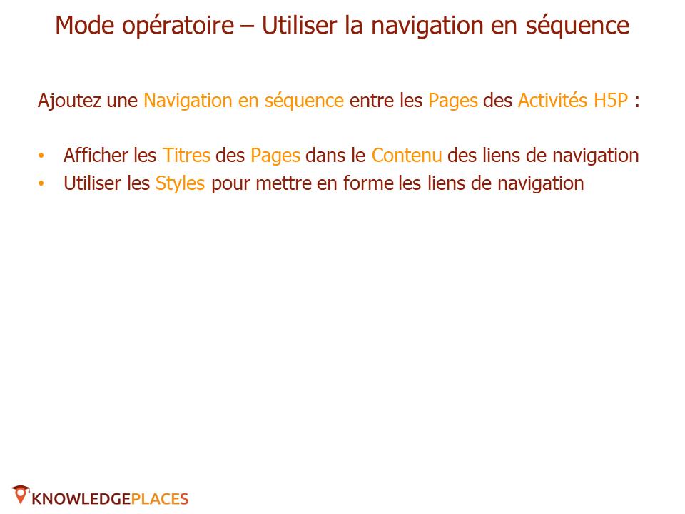 La navigation dans les formations - exercice (6)