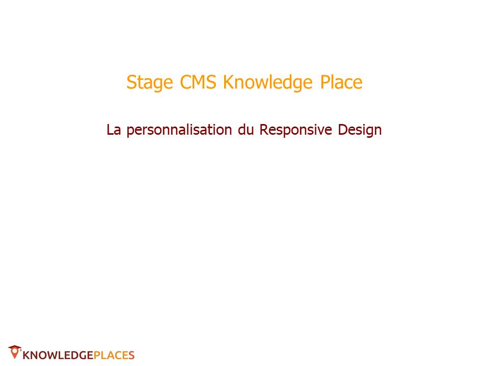 La personnalisation du responsive design (1)