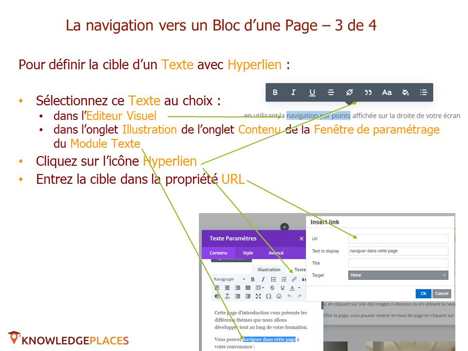 L'animation des blocs et la navigation entre les blocs (10)
