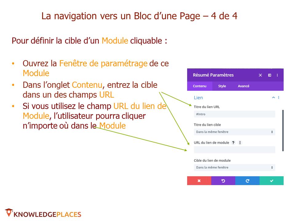 L'animation des blocs et la navigation entre les blocs (11)