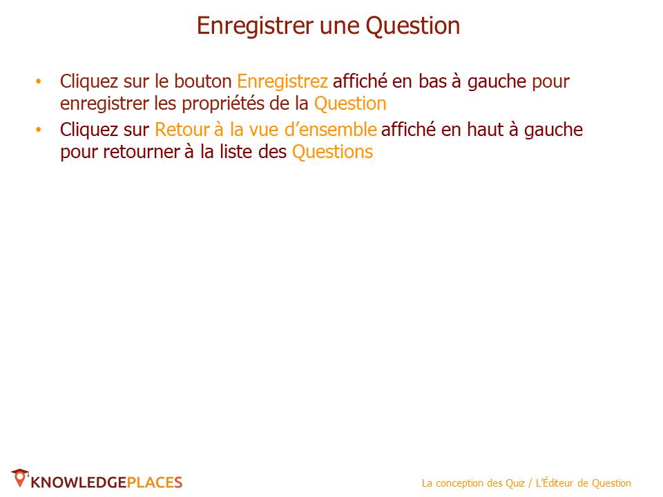 L'editeur de questions (5)