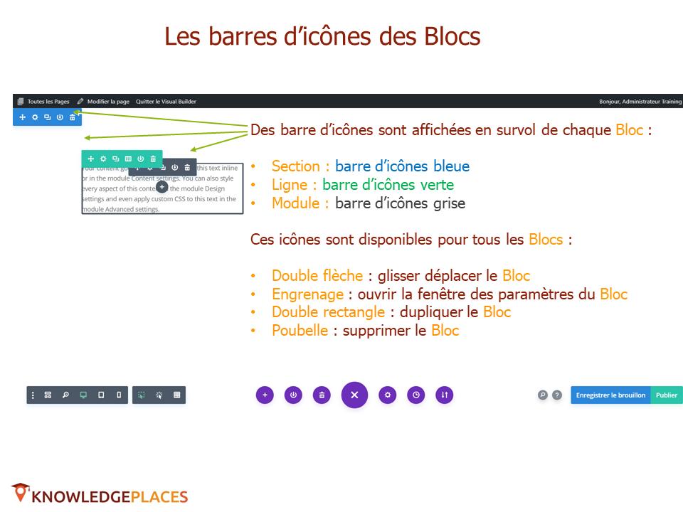 L'éditeur visuel et la mise en page par blocs (10)