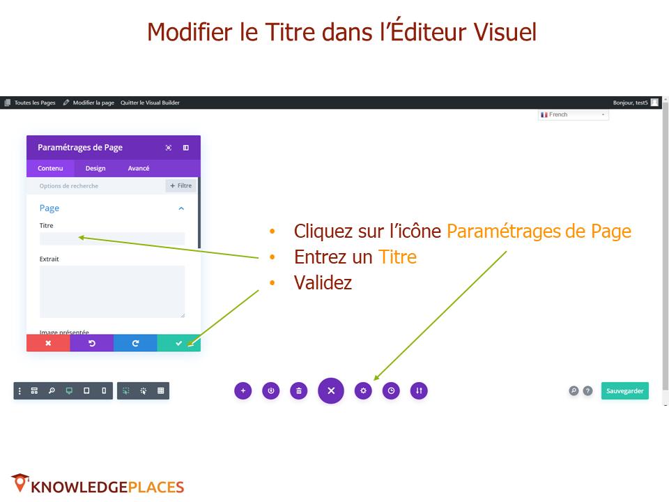L'éditeur visuel et la mise en page par blocs (14)