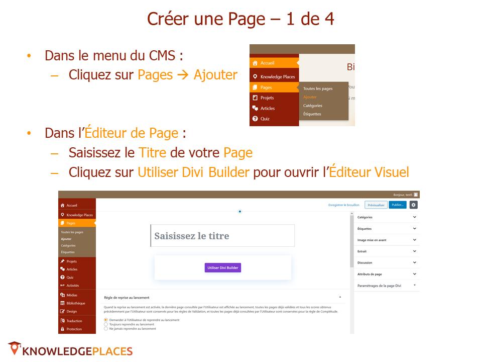 L'éditeur visuel et la mise en page par blocs (4)