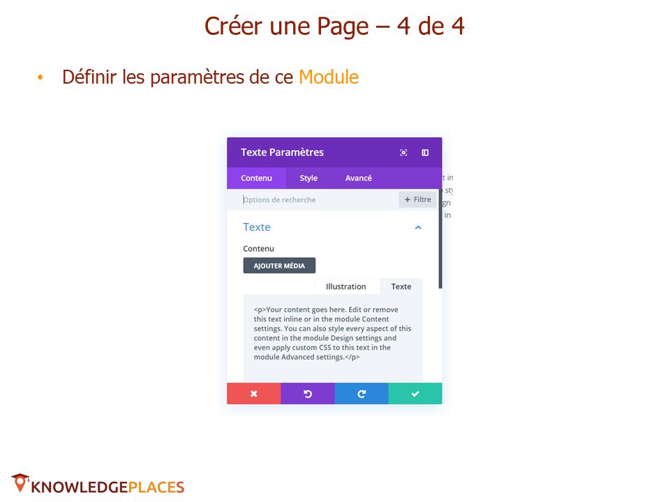 L'éditeur visuel et la mise en page par blocs (7)