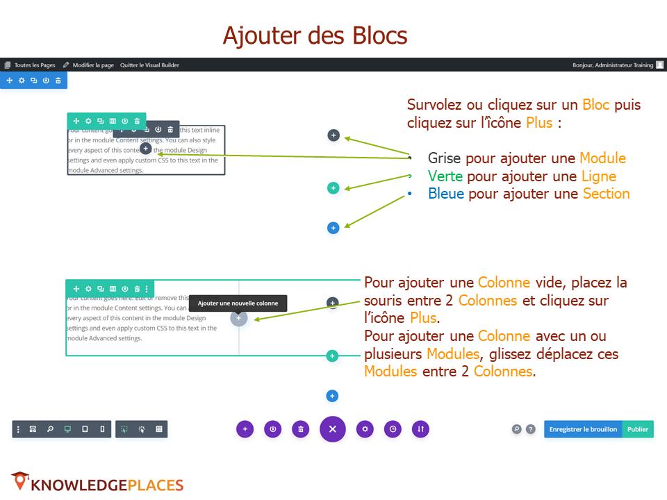 L'éditeur visuel et la mise en page par blocs (9)