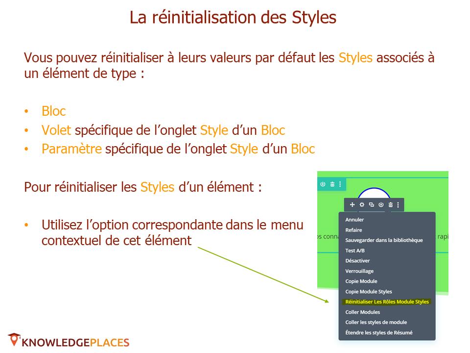 Les outils de productivité de l'éditeur visuel (9)